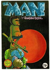 THE MAN F, Vaughn Bode, 3rd Printing, 75 Cents Cover P