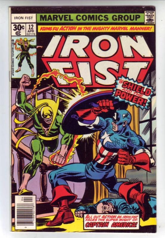 Iron Fist #12 (Apr-77) VF+ High-Grade Iron Fist