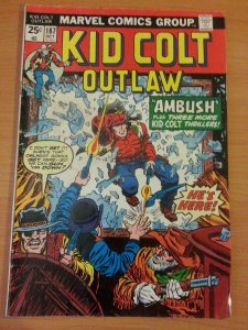 Kid Colt Outlaw #187 ~ FINE FN ~ 1974 MARVEL COMICS