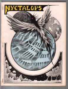 Nyctalops #11 1976-sci-fi-pulp-fantasy-Lovecraft-Frank Belknap-FN