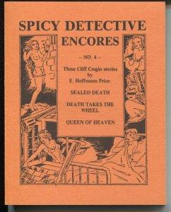 Spicy Detective Encores #4 1987-pulp reprints-Cliff Cragin-E Hoffman Price-VF