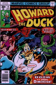 Howard the Duck #10 - 1st Series - 9.0 or Better