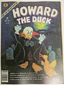 HOWARD THE DUCK#5 VF 1980 MARVEL BRONZE AGE MAGAZINE
