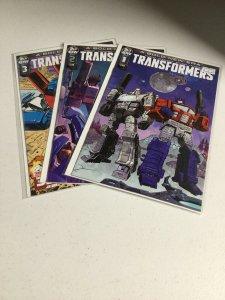 Transformers A Bold New Era 1 2 3 Nm Near Mint IDW
