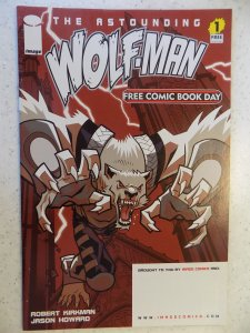 Image Firsts: The Astounding Wolf-Man #1 (2011)