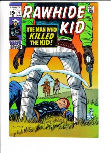 Rawhide Kid #75 (Apr-70) VF Mid-High-Grade Rawhide Kid