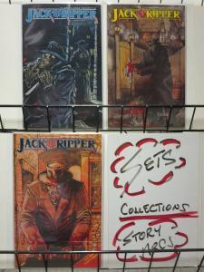 JACK THE RIPPER (1989 ET)1-3  Balfour & Jones  COMPLETE
