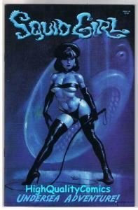 SQUID GIRL #1, Femme, Mike Hoffman, Good girl, 2002, NM, more indies in store