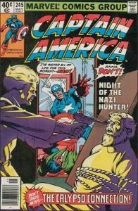 Marvel CAPTAIN AMERICA (1968 Series) #245 VF