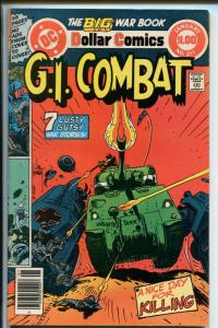 G.I. COMBAT #211 1978-DC-THE HAUNTED TANK-JOE KUBERT-GLANZMAN--vf+