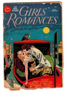 GIRLS' ROMANCES #8 comic book 1951-DC--CLASSIC ISSUE