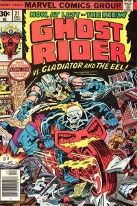 Ghost Rider (1973 series) #21, VG+ (Stock photo)
