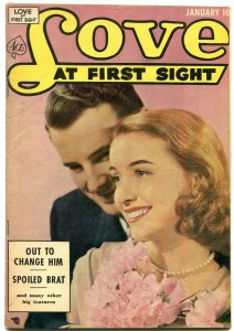 Love at First Sight #19 1953- Ace Golden Age Romance-Spoiled Brat F/VF