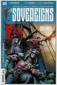Sovereigns #1 Cvr B / Magnus / Turok / Doctor Spektor (Valiant, 2017) NM