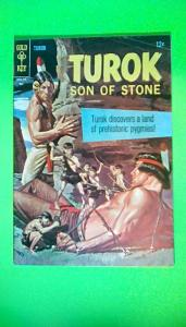 TUROK SON OF STONE #57 GOLD KEY Published in May of Year 1967 GD/VG 3.0