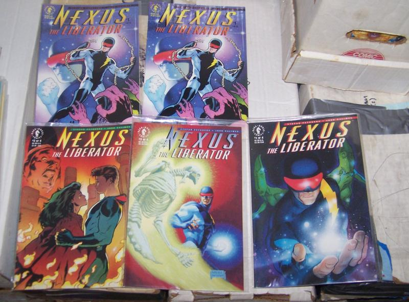 Nexus the Liberator # 1+  1 2 3 4 1992, Dark Horse MINI SERIES HIGH GRADE