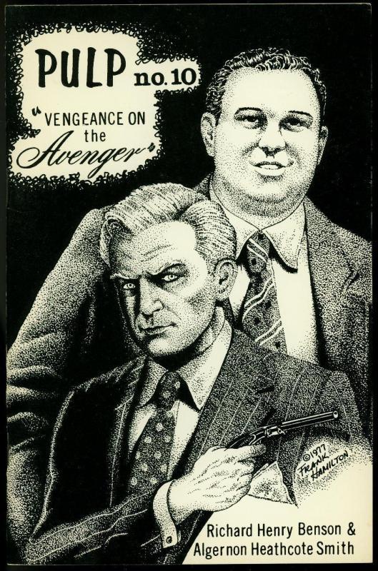 Pulp #10 1978- Vengeance on the Avenger- Fanzine VF
