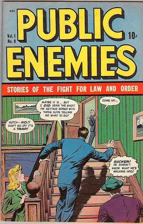 Public Enemies #8 (May-49) VF/NM High-Grade