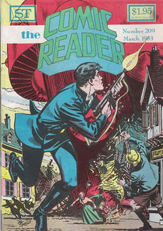 Comic Reader, The #209 FN; Street Enterprises   save on shipping - details insid