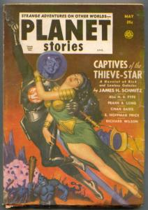 Planet Stories Pulp May 1951- Captives of the Thieve-Star