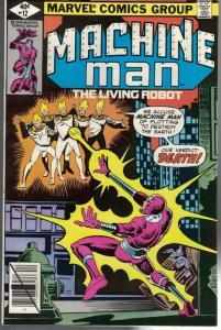 MACHINE MAN (1978) 12 VG-F Dec. 1979