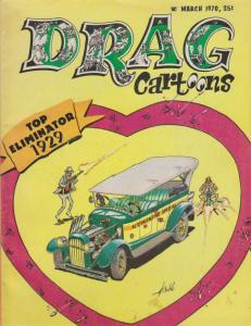 Drag Cartoons (vol. 3) #1 VG; Professional   low grade comic - save on shipping