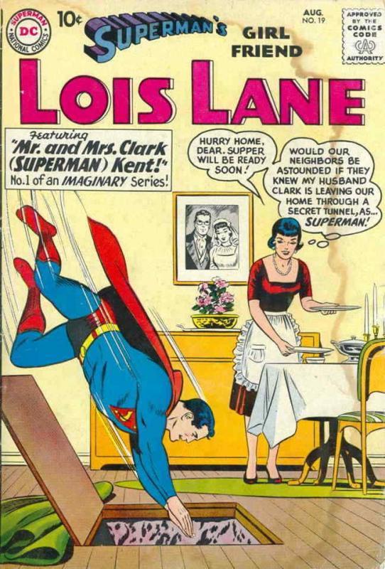 Superman's Girl Friend Lois Lane #19 VG; DC | low grade comic - save on shipping