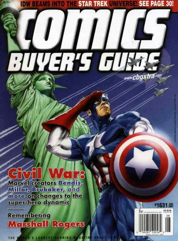 Comics Buyer's Guide #1631 VF/NM; F&W | save on shipping - details inside