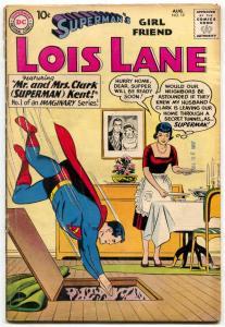 Superman's Girl Friend Lois Lane #19 1960-IMAGINARY SERIES VG