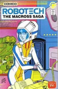 Robotech: The Macross Saga #7 VF/NM; COMICO | save on shipping - details inside