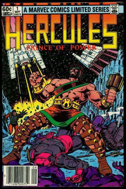 Hercules Prince of Power #1 1982- Marvel Comics- High Grade Copy