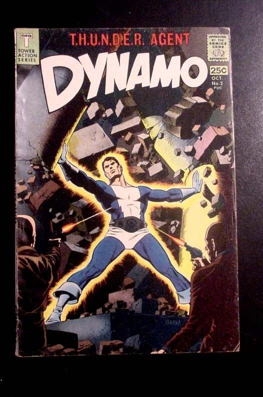 DYNAMO #2-WALLY WOOD COVER AND ART!!!! VG