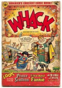 Whack Comics #3 1954- Little Awful Fannie- Humor comic