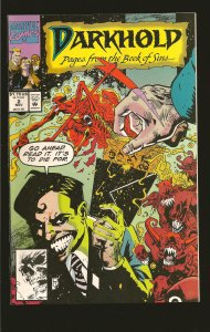 Marvel Comics Darkhold Pages From The Book of Sins Vol 1 No 2 November 1992