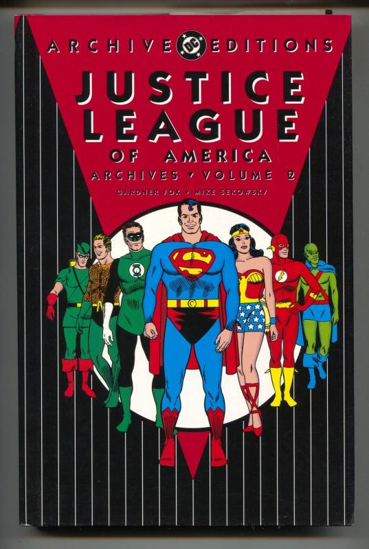 Justice League Of America Archives-Vol 2-Golden Age Color Reprints-Hardcover