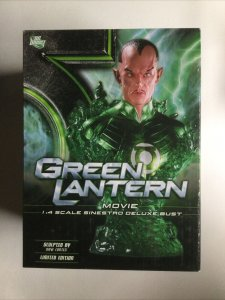 Green Lantern Movie 1:4 Scale Sinestro Deluxe Bust 0519 of 3500 LE Dc Direct