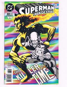 Superman The Man Of Steel #83 VF DC The Killer Of Time Comic Book 1997 DE11