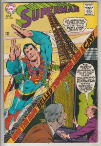 Superman #206 (May-68) NM- High-Grade Superman, Jimmy Olsen,Lois Lane, Lana L...