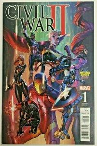 CIVIL WAR II#1 NM 2016 MIDTOWN VARIANT MARVEL COMICS