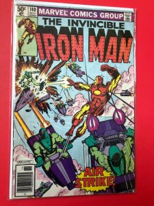 IRON MAN V1 #140 1980 MARVEL / NEWSSTAND /  SEE PICTURE