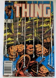 Thing #25 Marvel 1985 FN/VF Copper Age 1st Printing Comic Book