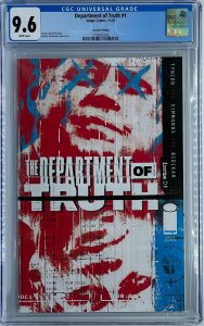 Department of Truth #1 | Second Printing | CGC 9.6
