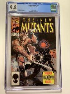 New Mutants 29 Cgc 9.8 White Pages Marvel X-men Copper Age 014