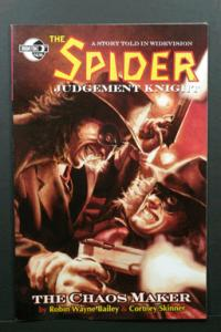 The Spider: Judgement Knight - The Chaos Maker Moonstone2009