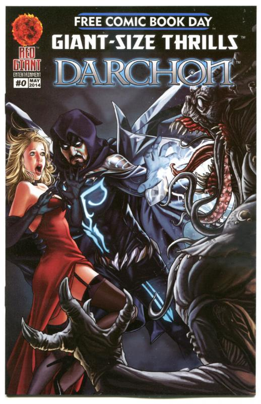 DARCHON #0, NM, Ricardo Jaime, Castle, FCBD, 2014, more Promo / items in store