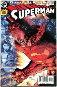 SUPERMAN #215, NM, Jim Lee, Brian Azzarello, 1987, more DC & SM in store, A