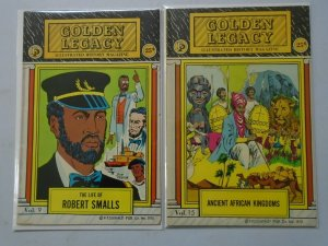 Golden Legacy #9+15 avg 5.0 VG FN (1976 Fitzgerald Reprints)