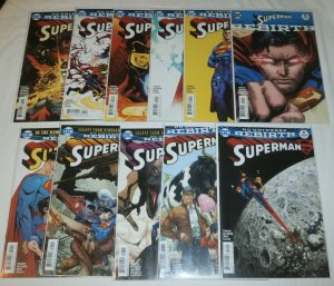 Superman (vol. 4, 2016) #1-10, Rebirth #1 (set of 11) Tomasi/Mahnke/Gleason