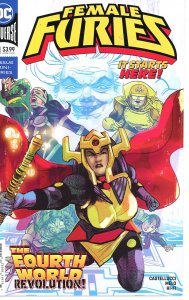 Female Furies 1 Cover A  9.0 (our highest grade)