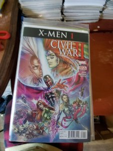 Civil War II: X-Men #1 (2016)